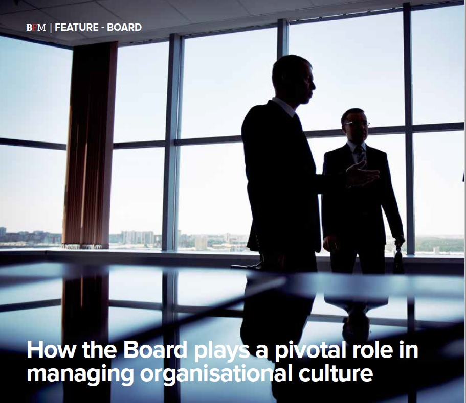 Role of the Board In Culture BFM